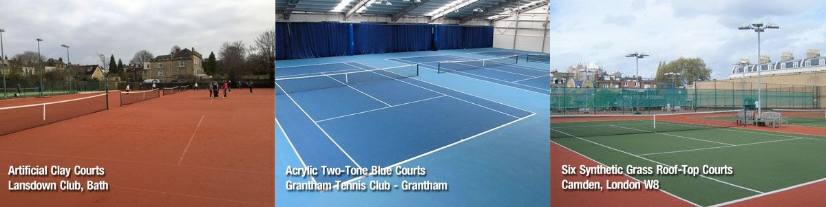 New Tennis Court Construction And Builders Chiltern Sports