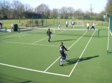 Widmer End, Buckinghamshire Private Domestic Use Games Area (DUGA�)