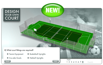 Design Your Own Tennis Court!