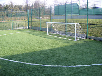 five a side football pitch